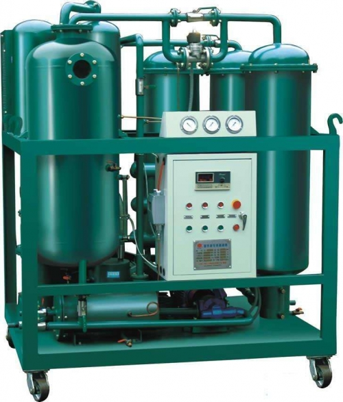On-line oil filter equipment for transformer oil
