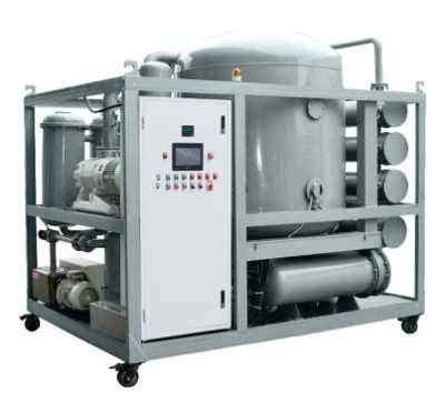 Transformer oil filter oil filter